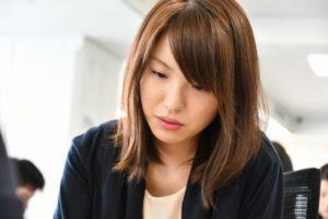 山口恵梨子女流二段対戦中