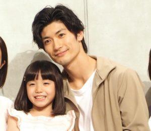 三浦春馬と少女
