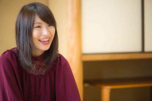 山口恵梨子女流二段談笑